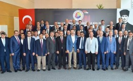 Our Chairman Ulvi Sakarya participated in the Consultation Meeting of Central Anatolia Region organized by TOBB.
