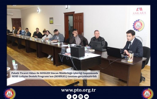 KOBİGEL Promotion Meeting was held