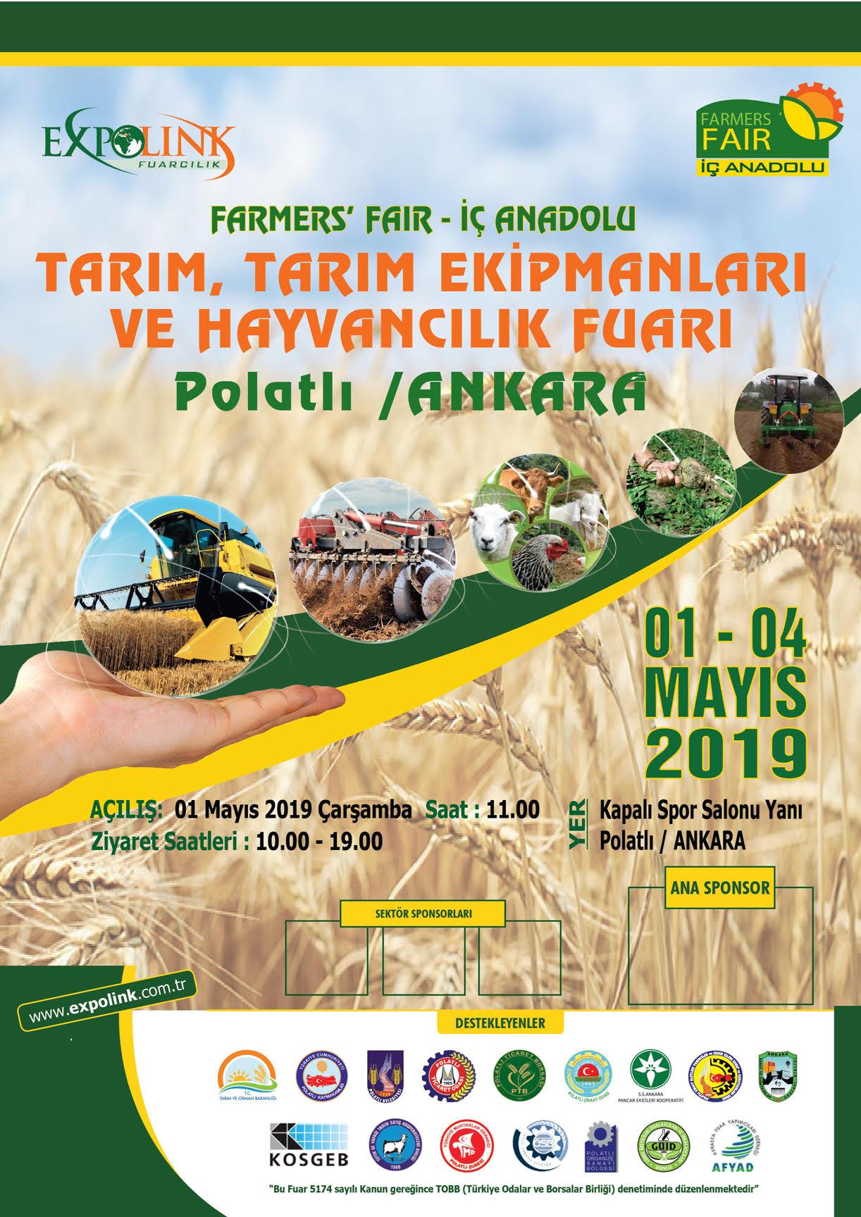 "FARMERS FAIR ""TARIM, TARIM EKİPMANLARI VE HAYVANCILIK FUARI"""