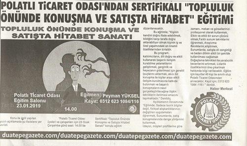 18.01.2019-DUATEPE-PTODAN SERTİFİKALI EĞİTİM