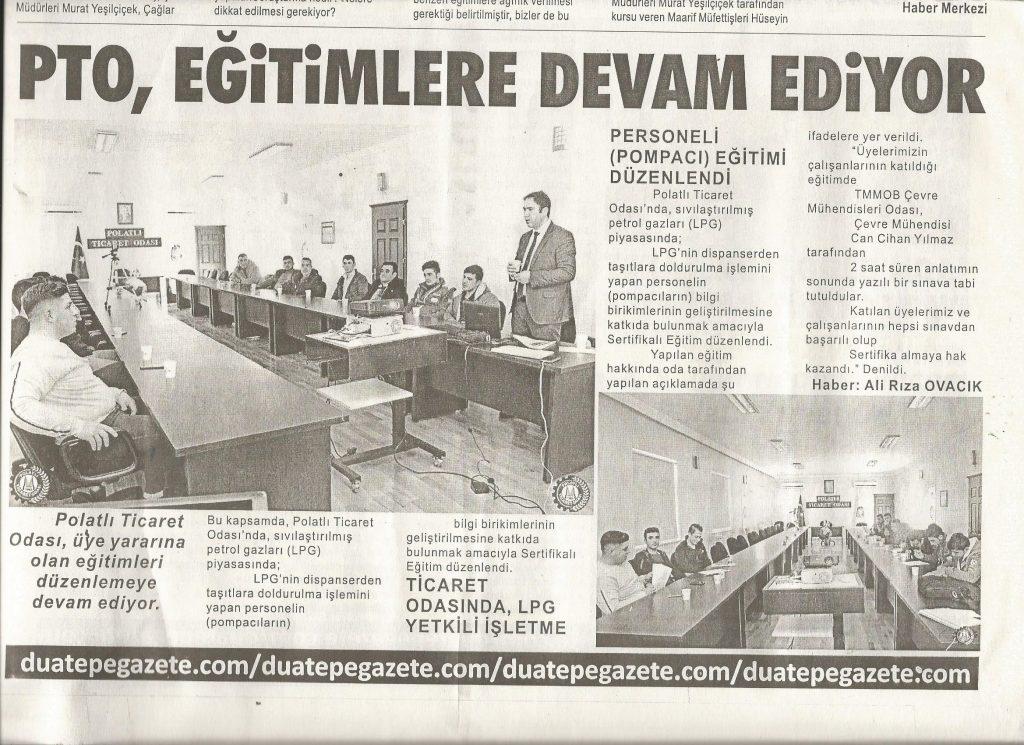 06.02.2019-DUATEPE-PTO EĞİTİMLERE DEVAM EDİYOR
