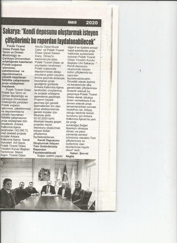 22.02.2020- İstiklal Gazetesi