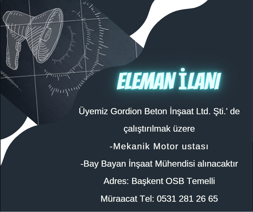 GORDİON BETON ELEMANI