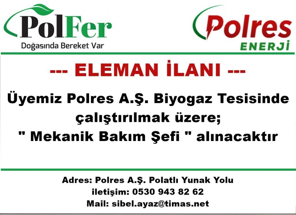 polres mekanik bakımcı