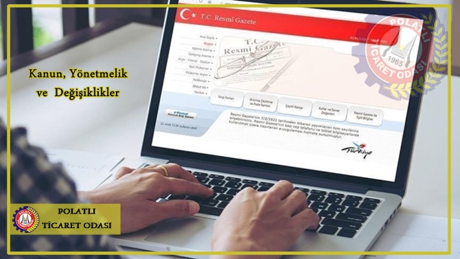 resmi gazete duyuruları için görsel