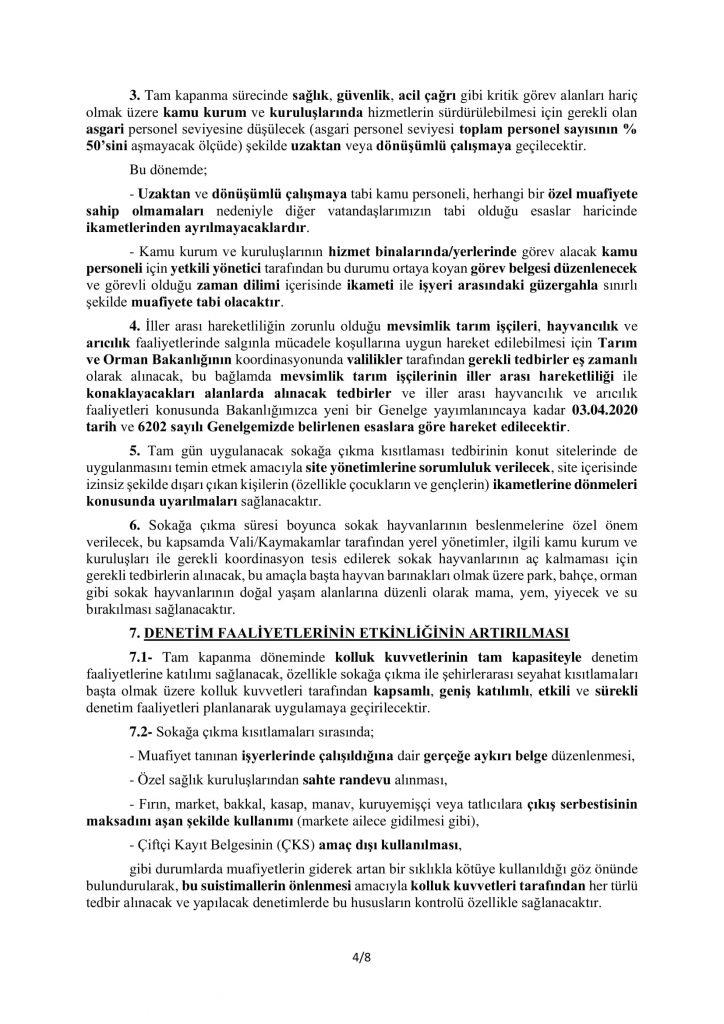 TAM KAPANMA TEDBİRLERİ-4