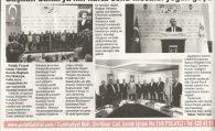 Başkan Sakarya'nın hafta sonu mesaisi yoğun geçti