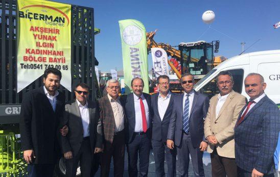 Polatlı Protokolü Konya Tarım Fuarına Çıkarma Yaptı