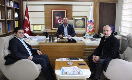 QNB Finansbank Şube Müdürü Özgür Şahin odamıza ziyarette bulundu.