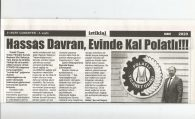 HASSAS DAVRAN EVİNDE KAL POLATLI !!!