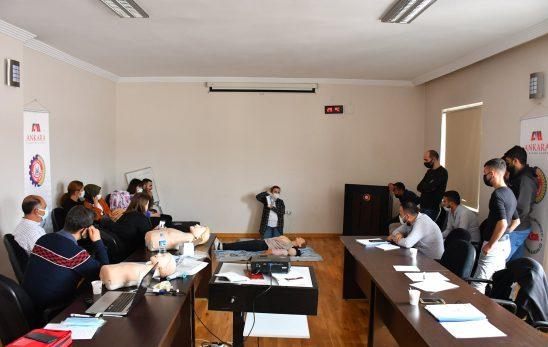 POLATLI TİCARET ODASI'NDAN SERTİFİKALI İLKYARDIMCI EĞİTİMİ