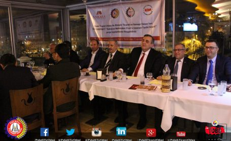 Sakaryadan Fırat'a Uzanan Tarihi Köprü Projesi Açılış Toplantısı