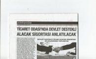 PTO'DA DEVLET DESTEKLİ ALACAK SİGORTASI ANLATILACAK
