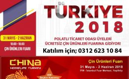 CHİNA HOMELİFE TURKEY FUARINA İŞ GEZİSİ…