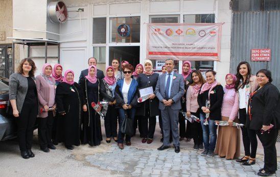 Polatlı Belediye Başkanı Mürsel Yıldızkaya Anadolu Bacılarının Kadınlar Gününü Kutladı