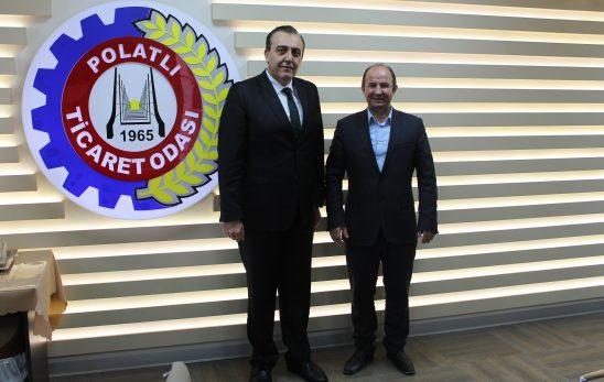 İlçemiz Kaymakamı Sayın M.Nedim Tunçer , Başkanımız Ulvi Sakarya'ya ziyarette bulundu.