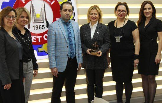 ANGİKAD'dan Polatlı Ticaret Odası'na Ziyaret