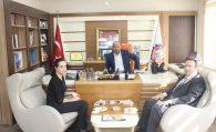 Polatlı Akbank Şube Müdürü İsa Gürpınar Başkanımız Ulvi Sakarya'ya ziyarette bulundu.