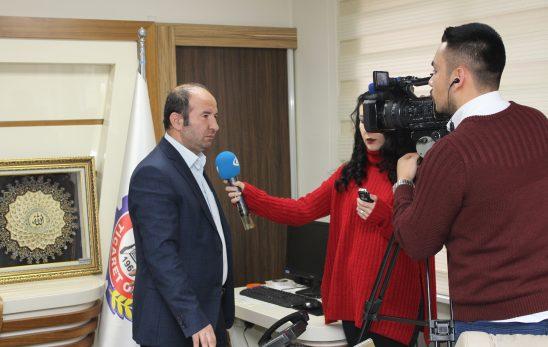 Başkanımız İhlas Haber Ajansına değerlendirmede bulundu