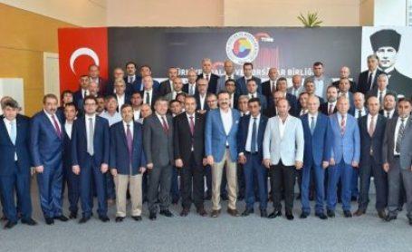 Yönetim Kurulu Başkanımız Ulvi Sakarya TOBB'un Düzenlediği İç Anadolu Bölgesi İstişare Toplantısına Katıldı.