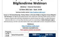 Dijital Dönüşüm Çağrısı Bilgilendirme Webinarı Hk.