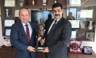 Başkanımız Ulvi Sakarya Ankara Bölge İdare Mahkemesi Başkanı Esat Toklu'yu ziyaret etti.