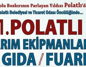 2016 Polatlı Tarım Fuarına son 52 gün!