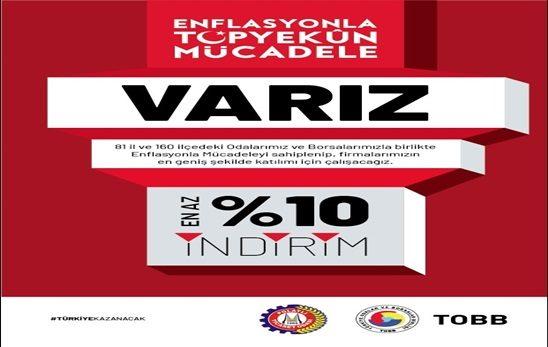 ENFLASYONLA TOPYEKÜN MÜCADELEYİ DESTEKLİYORUZ!!