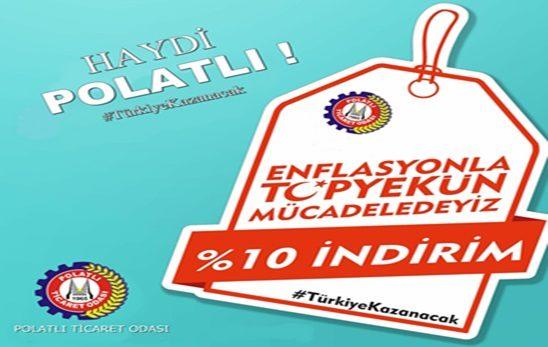Polatlı Enflasyonla Topyekûn Mücadelede !!
