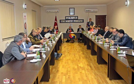 Odamızın Kasım Ayı Olağan Meclis Toplantısı Yapıldı