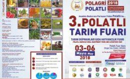 POLAGRİ 3. Tarım Fuarı(3-6 Mayıs 2018)