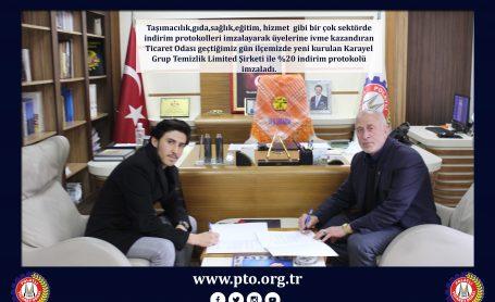 PTO İNDİRİM PROTOKOLLERİNE DEVAM EDİYOR